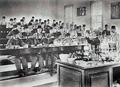 Chemistry Class -Ottoman Empire  1900