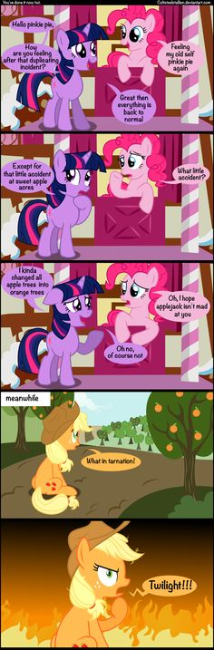 You've done it now twi. by Coltsteelstallion.deviantart.com on @deviantART