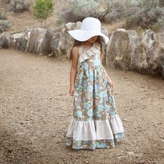 Download Charlotte Maxi Dress Sewing Pattern | Featured Products | YouCanMakeThis.com
