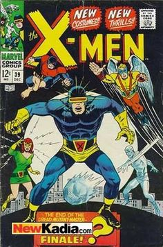 X-men 39 1st appearance of their new costumes. Silver age Marvel Comics