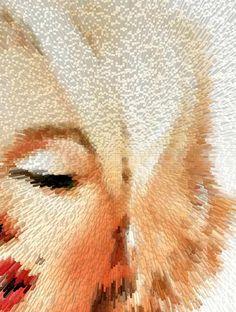 Modern Marilyn - Marilyn Monroe Art By Sharon Cummings Painting
