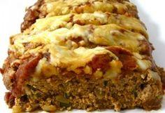 Skinny Pizza Meatloaf #WeightWatchers #HealthyRecipes #Meatloaf