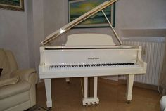 Pianoforte a coda Baby Grand Hyundai G80-A Ivory High Gloss