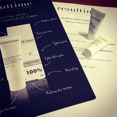 Packing up samples for our client testing panel for the new Multi-Corrective CC Cream... exciting! Watch this space... #Resultime #Skincare #Beauty #CCCream #ProductLaunch #NewProduct