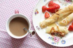 Perfect breakfast :-)  www.witenbont.blogspot.com