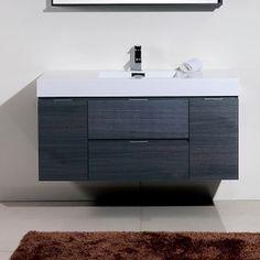 Found It At Allmodern Tania Single Wall Mount Modern Bathroom Vanity Set