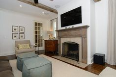 New Construction — Slate Barganier Building Cottage Homes, Cottage Style, White Stucco House, Vestavia Hills, Stucco Homes, Stone Cottages, House In The Woods, New Construction, Slate