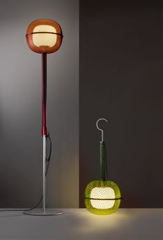 Lampe Noctiluque / H 91 cm - A poser ou suspendre - Artuce
