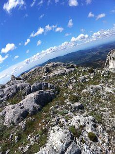 En direction de la Croix de Provence - Montagne Sainte Victoire