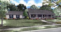 House Plan 61392 | Plan with 1800 Sq. Ft., 3 Bedrooms, 2 Bathrooms, 2 Car Garage at family home plans