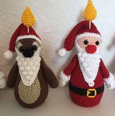Crochet Disney, Diy Crochet, Christmas Crafts, Christmas Decorations, Christmas Ornaments, Holiday Decor, Disney Christmas, Christmas Time, Disney Diy