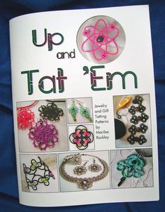 Tatting book Up and Tat 'Em by yarnplayer on Etsy, $24.00