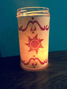 Rapunzel Floating Lantern Candle #rapunzel #tangledwedding #floatinglantern #sunflowercandle #rapunzelwedding #disneywedding