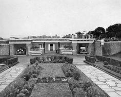 Garage at Villa Isola Bandung circa 1930s