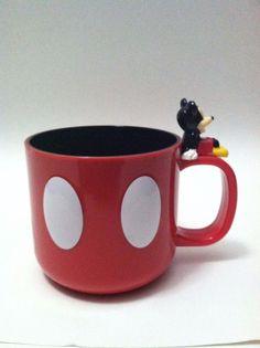Disney Mickey Mouse Plastic Coffee Mug Disney Store
