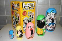 Popeye the Sailorman nesting dolls