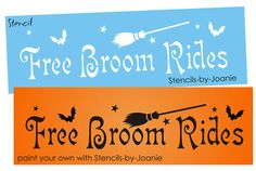 free primitive stencils | Primitive Stencils-Wiccan-Witch's Broom Magic Stencil