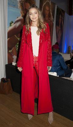 "Gigi Hadid || Sports Illustrated ""Swim City"" Fan Event in NYC ||February 16, 2016"