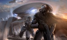 Discover the art of J. Park, an illustrator and concept artist based in Seoul, South Korea where he currently works in the video game, feature film, animation… Science Fiction, Fantasy Literature, Picture Composition, Space Fantasy, Nasa History, Future Soldier, Muse Art, Futuristic Art, Middle Ages