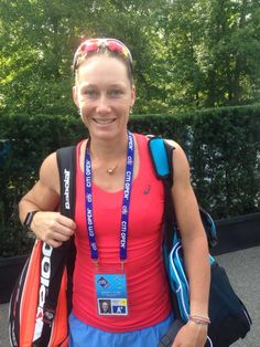 Your @WTAGastein champion @bambamsam30 Stosur looking to have a great week @CitiOpen!