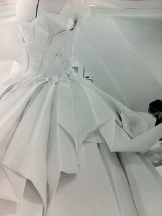 Inside The Atelier For Christian Dior Haute Couture S S 2007