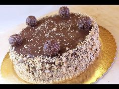 Torta Ferrero Rocher - Ricetta di Fidelity Cucina - YouTube
