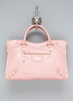 Pink Balenciaga bag