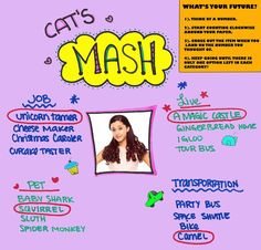 From Sam and Cat