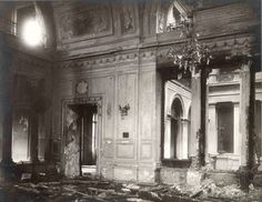 Dining Room of the Winter Palace after the assassination of Emperor Alexander II. 1879.