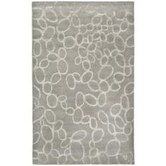 @Overstock.com - Handmade Soho Loops Grey New Zealand Wool Rug (8'3 x 11') - This floor rug has a grey background and displays stunning panel color of silver.  http://www.overstock.com/Home-Garden/Handmade-Soho-Loops-Grey-New-Zealand-Wool-Rug-83-x-11/5185815/product.html?CID=214117 $494.99