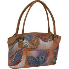 ANNA by Anuschka Wide Tote - Peacock Butterfly (Peacock Butterfly) Anuschka,http://www.amazon.com/dp/B0057T1I50/ref=cm_sw_r_pi_dp_HZestb04WNC5D5EW