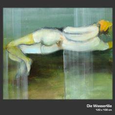 Die Wasserlilie...  Ein Original aus der Ausstellung von Bild & Raum