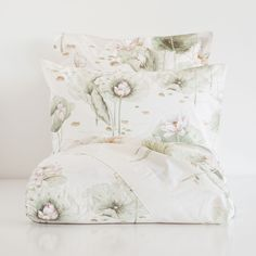 WATER LILY PRINT PERCALE BED LINEN - Bedding - Bedroom | Zara Home United States
