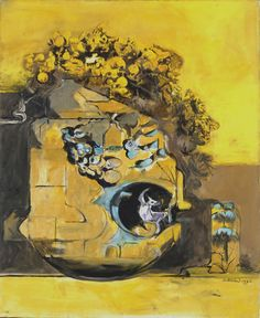 Rock against Gorse – Graham Sutherland Artist Van Gogh, English Artists, British Artists, Graham, Western Art, Beautiful Paintings, Cool Artwork, Art Forms, Art Pictures