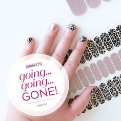 These Jamberry nail wraps are Going, Going, GONE!! Get it while you can! Discontinues February 29, 2016. Rosy Leo.