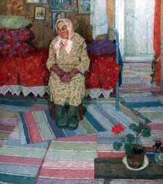 Данилюк Владимир Александрович. Солдатская вдова. 1984г.