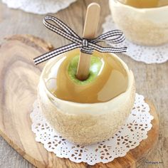 Make your favorite caramel apple from the candy store at home!
