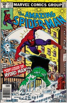 Amazing Spider-Man 1963 1st Series 212 January 1981 by ViewObscura