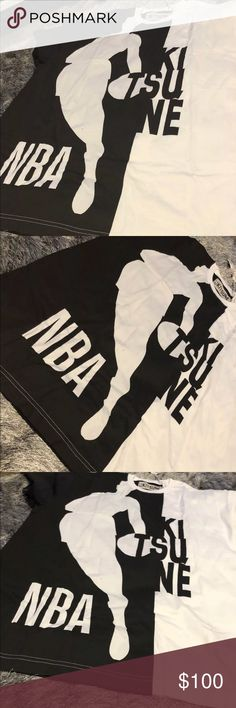 b0f0a3d8 Shop Men's NBA size L Tees - Short Sleeve at a discounted price at  Poshmark. Description: Really exclusive shirt from the Madison Kitsune and  NBA ...