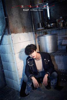B.A.P 비에이피 Bang Yongguk official Rose teaser Bap Yongguk, Kim Himchan, Youngjae, Bap Kpop, Boys In Groove, Jung Daehyun, Korean K Pop, Latest Pics, Kpop Boy