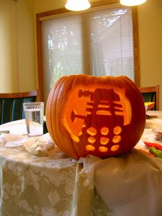 Dalek Pumpkin Carving - Imgur. You are doing this @Russell Sese Wethington
