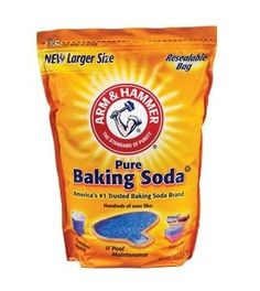 big bag of baking soda