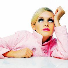 Twiggy.Mod 1960's fashion