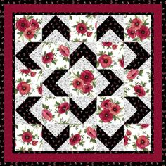 WALK ABOUT QUILT........PC.............Walk About Pattern (Downloadable) | Grizzly Gulch Gallery | Fabric, Patterns & Kits
