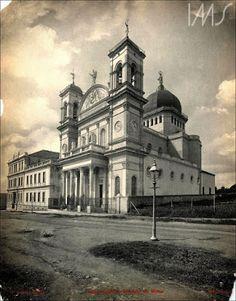 Igreja do Imaculado Coração de Maria na Rua Jaguaribe Ano: 1925 Autor/Fonte: Guilherme Gaensly/IMS