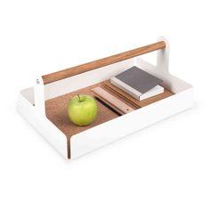 Schreibtischbox Desktop-box Grau Konstantin Slawinski Schreibtisch Box Ablage Papier, Büro- & Schreibwaren Ordnen & Ablegen