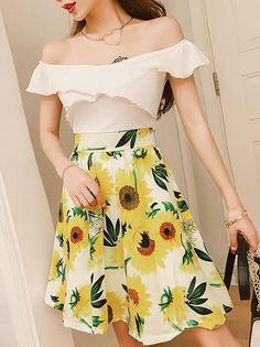 Sweet Chic Bright Short Dress_Strapless&Tube Dress_DRESSES_Wholesale clothing, Wholesale Clothes Online From China Bright Shorts, Tube Dress, Wholesale Clothing, High Waisted Skirt, Strapless Dress, Short Dresses, China, Stylish, Sweet