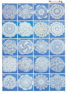 Artes e livros artesanais: 2180 livro padrão de crochê, crochê padrão livre ~ fazer artesanal - feitas à mão - artesanato