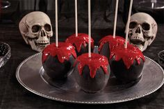 How to Make Bloody Chocolate Apples