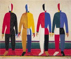 Suprematism by Kazimir Malevich